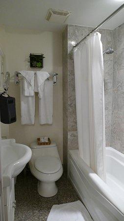 Parc Suites Hotel: Bathroom