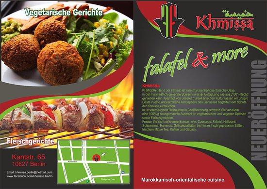 khmissa falafel more flyer von khmissa falafel