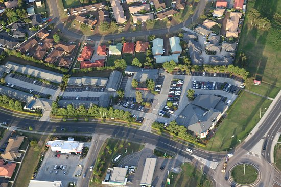 Rutherford, Australia: Airial View from the legend Blimp