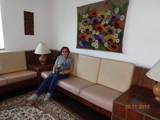 Hotel Uniao: Espaços amplos e descontraídos.