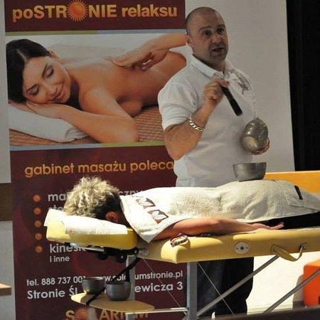 Stronie Slaskie, Polonia: Masaż jest idealnym sposobem na pozbycie się napięcia ;)