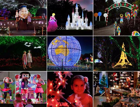 ‪‪Rutherford‬, أستراليا: HUNTER VALLEY GARDENS CHRISTMAS LIGHTS SPECTACULAR 2016-2017‬