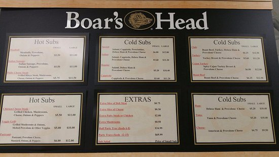 Round Rock, TX: Menu board
