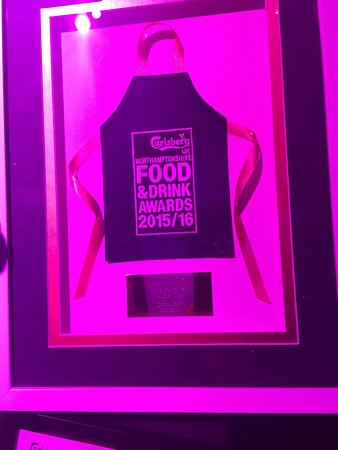 Brackley, UK: Won the best Indian/spice restaurent of the year for Northamptonshire