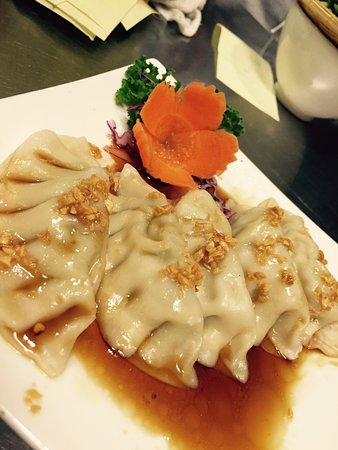 Pot Stickers, one of our most popular appetizers