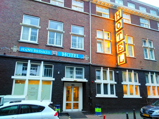 Entrada Do Hotel - Picture Of Hans Brinker Hostel Amsterdam  Amsterdam