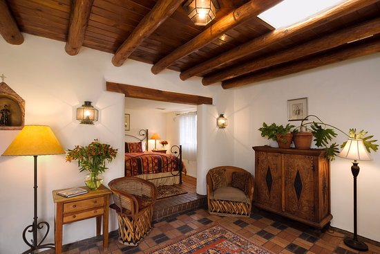 Hacienda Nicholas Bed & Breakfast Inn: The Nicholas Suite - quintessential Santa Fe style, and a favorite of returning guests.