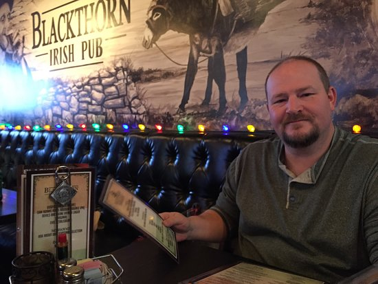 The Blackthorn Irish Pub: Enjoyed the atmosphere!