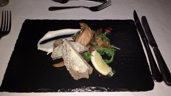 North Ballachulish, UK: Gin Cured Salmon