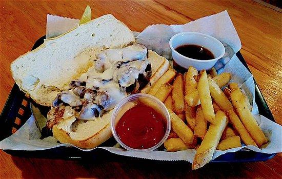Ridgeland, Carolina Selatan: Steak Sandwich