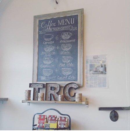 Erin, Canadá: Coffee chalkboard
