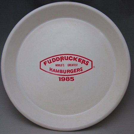 l t styrofom container burger beast museum fuddruckers food tray from 1985