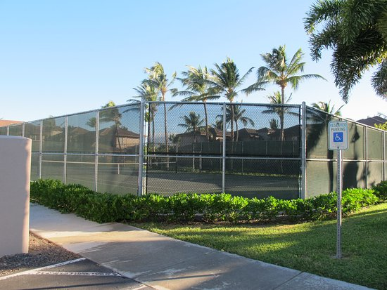 Aston Waikoloa Colony Villas: Tennis Courts