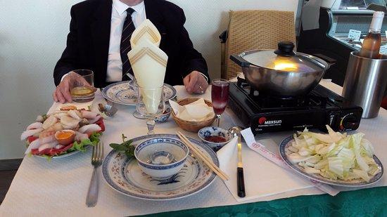 Cozes, France : fondue2