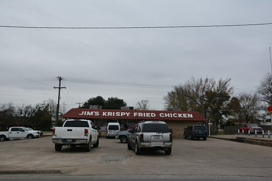 Mexia, TX: Jim's Krispy Fried Chicken