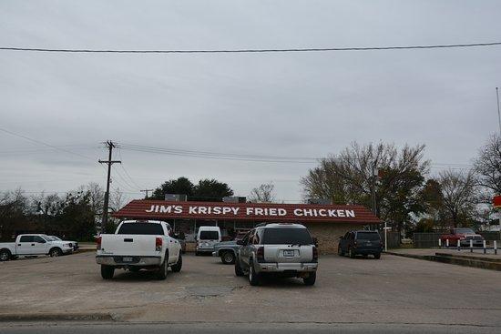 Mexia, เท็กซัส: Jim's Krispy Fried Chicken