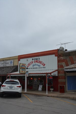 West, TX: Czech American Restaurant