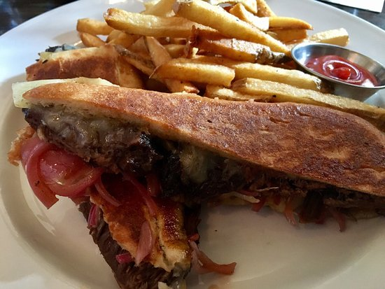 Burtons Grill: Didn't see this picture before I hit submit on my review. This is the Pulled Pork Grilled Cheese