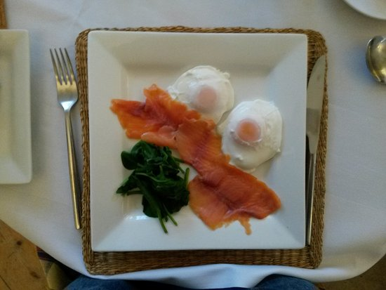Highfield Country Guest House: excellent breakfast