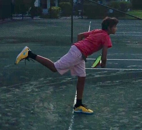 St Augustine Tennis at Treaty Park: Advanced Junior Player