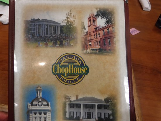 Madison Chop House Grille: menu cover