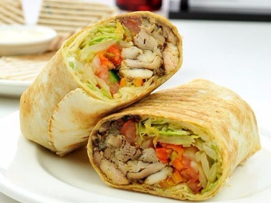 Image result for shawarma wrap