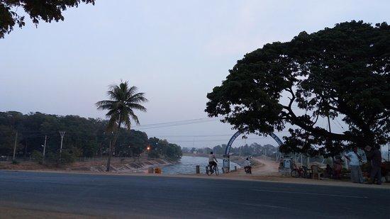 Khammam, الهند: Palair Reservoir