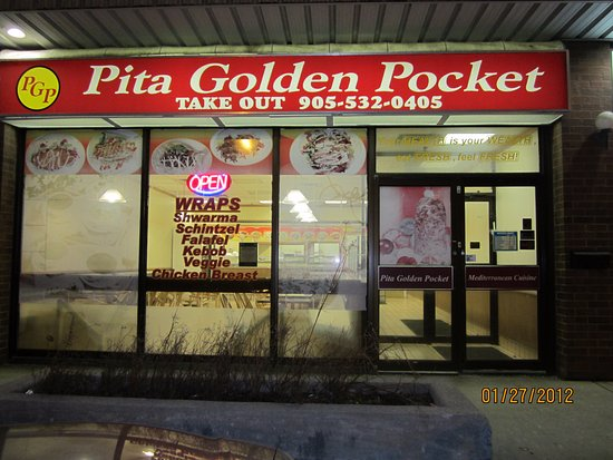Concord, Canada: pita golden pocket
