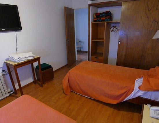 La Habitacion Con Dos Camas Individuales Incluida En La Cuadruple Picture Of Capvio Hotel Villa Carlos Paz Tripadvisor