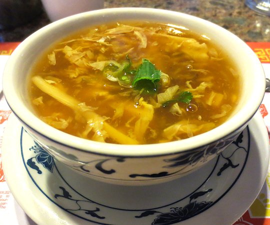 Greenfield, MA: Hot and sour soup