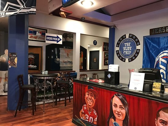 Blue chip sports bar