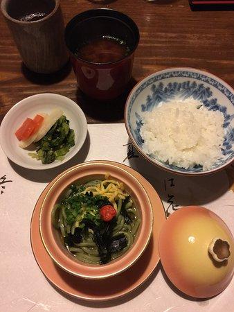 平山温泉 湯の蔵, 夕食はひとつひとつの料理に大満足