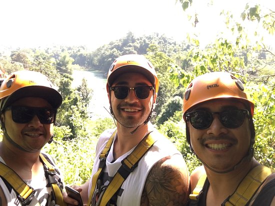 Wonderful Tours Laos: Zip lining at its best!
