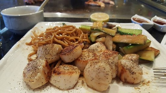 Sakura Japanese Steak House & Sushi: Teriyaki Scallop