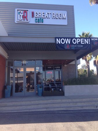 Exterior Shot Now Open Owned By A Local Family Picture Of The Great Room Cafe Redondo Beach Tripadvisor