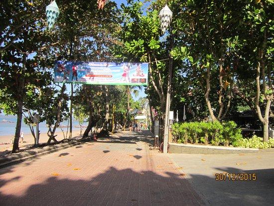 Golden Beach Resort: набережная