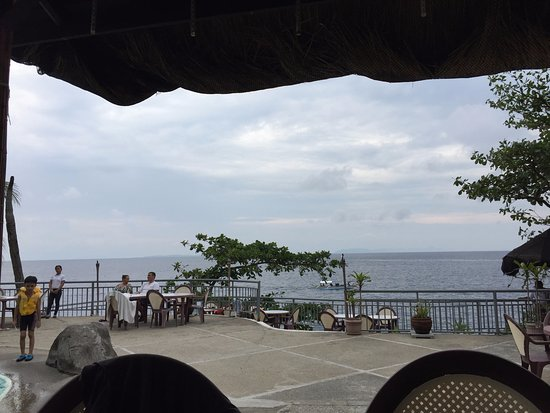 Eagle Point Resort: A awesome view from dining Area