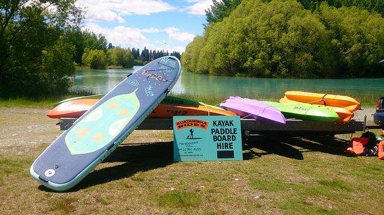 Twizel, New Zealand: Ruataniwha Rides 2016 summer  3.7M Paddle Board Super trip