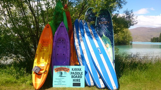 Twizel, Nowa Zelandia: Ruataniwha Rides summer 2016 the fleet cover page shot