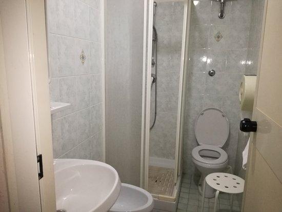 Hotel Concorde: Bagno