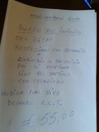 Ponzano Romano, Italia: Bar Trattoria La Vecchia Mola
