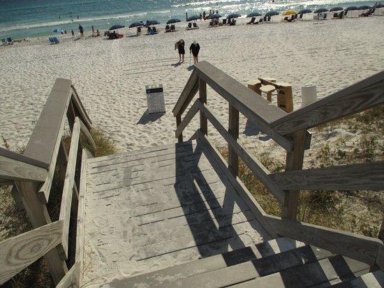Candlewood Suites Destin Sandestin: Miramar Beach   Access Stairs (bottom  Step Is Quite