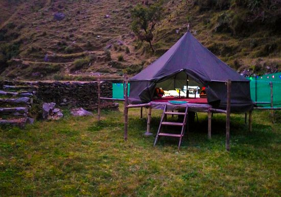 Comfortable Bell Tent