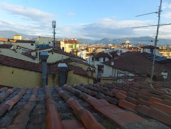 Granduomo Charming Accomodation: サンルーム(共用)からの眺め