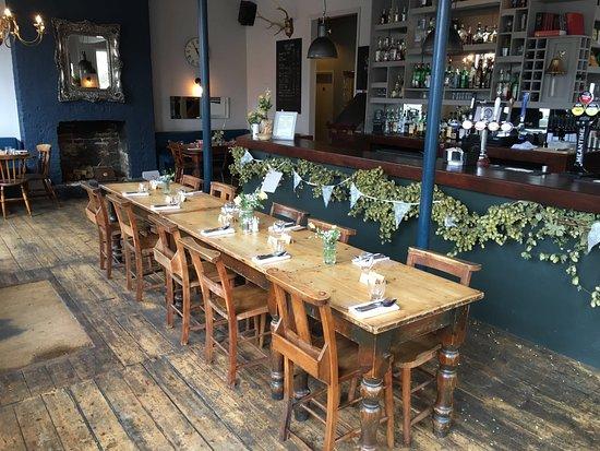 New Bar Table Set Up