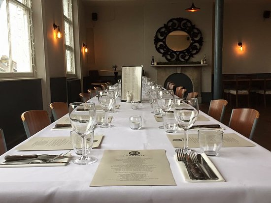 Function room private dining set up...... - Picture of The ...