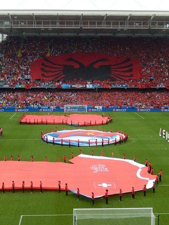 Lens, فرنسا: Albania vs Switzerland