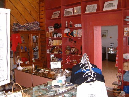 Pocahontas, AR: The museum gift shop.