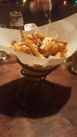 Tarragon Fries with Feta Cheese