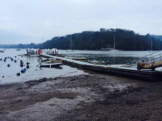 Cornworthy, UK: The River Dart estuary....
